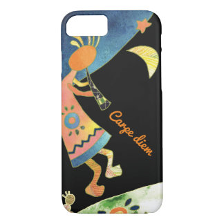 Whimsical Tribal Kokopelli iPhone 8/7 Case