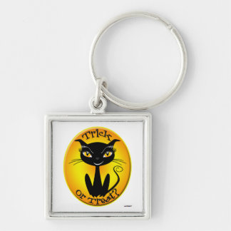 Whimsical Trick or Treat? Cat Keychains