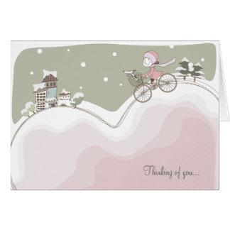 Whimsical Valentine Love Greeting Card