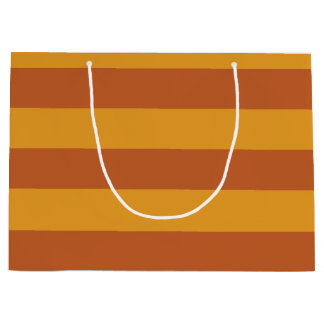 Whimsical Witch's Stripes Large Gift Bag