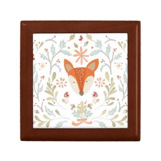 Whimsical Woodland Fox Gift Box