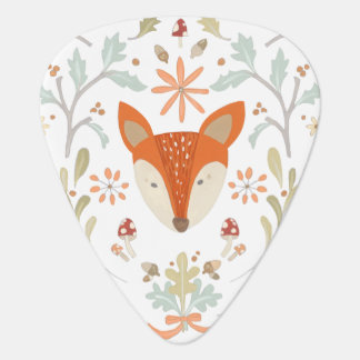 Whimsical Woodland Fox Plectrum