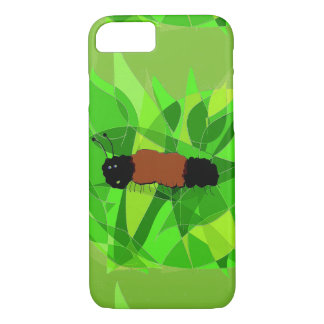 Whimsical Woolly Bear Painting on iPhone 7 Case