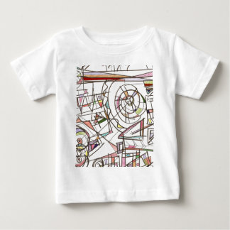 Whimsy-Abstract Art Geometric Baby T-Shirt