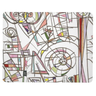 Whimsy-Abstract Art Geometric Journal