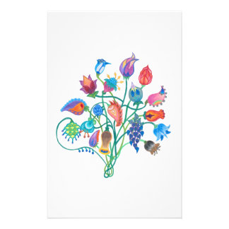 Whimsy Bouquet Stationary Stationery