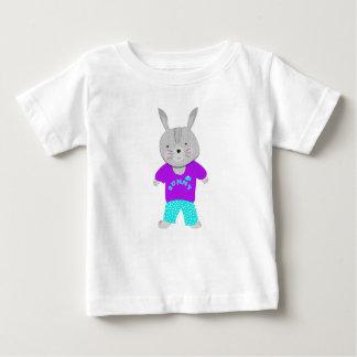 Whimsy Cute Kids Bunny Rabbit Baby T-Shirt