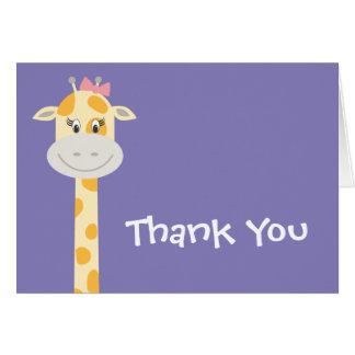 Whimsy Giraffe Card