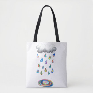 Whimsy Rain Tote