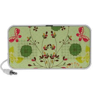 Whimsy  Retro Garden iPhone Speakers