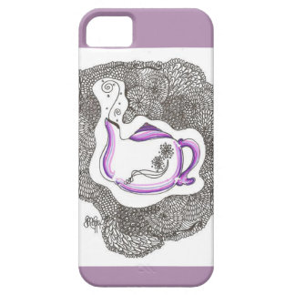 Whimsy Teapot iPhone 5 Cover