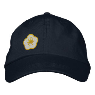 WhimsyMonger design your own flower cap Embroidered Hat