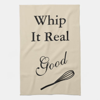Whip It Real Good Hand Towels