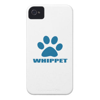 WHIPPET DOG DESIGNS iPhone 4 Case-Mate CASES