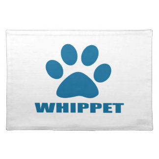 WHIPPET DOG DESIGNS PLACEMAT