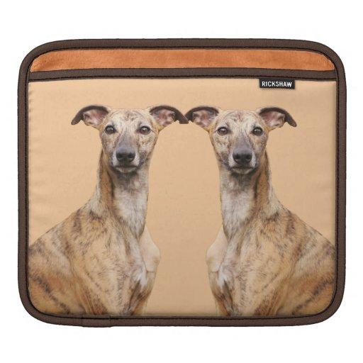 Whippet dog dogs beautiful photo ipad sleeve