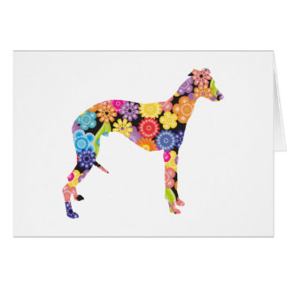 Whippet Greeting Cards