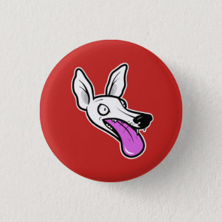 Whippet Madness 3 Cm Round Badge