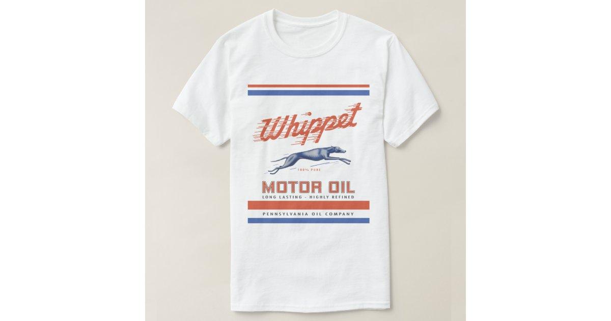 Whippet Motor Oil T Shirt