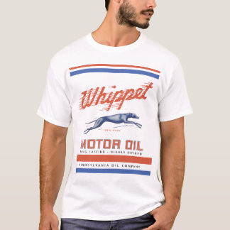 Whippet Motor Oil T-Shirt