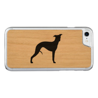 Whippet Silhouette Carved iPhone 8/7 Case