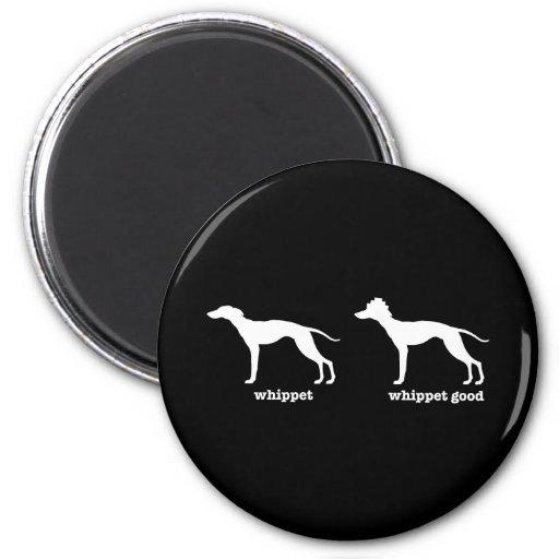 Whippet, Whippet Good Funny Dog Breed Fridge Magnet
