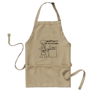 Whipping It In The Kitchen Standard Apron