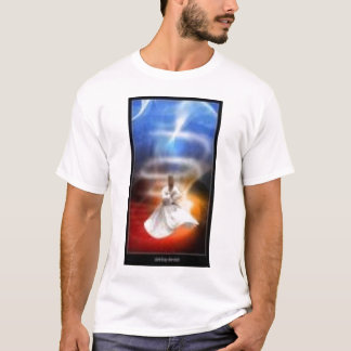 whirl whirling dervish turkish zikr dhikr tasawuff T-Shirt