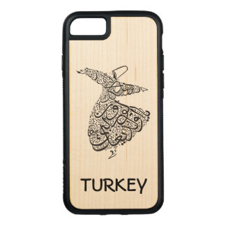 Whirling Dervish Carved iPhone 8/7 Case