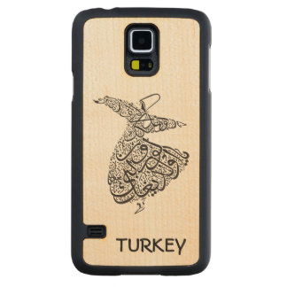 Whirling Dervish Carved Maple Galaxy S5 Case