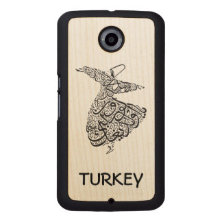 Whirling Dervish Wood Phone Case