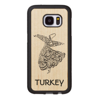 Whirling Dervish Wood Samsung Galaxy S7 Case