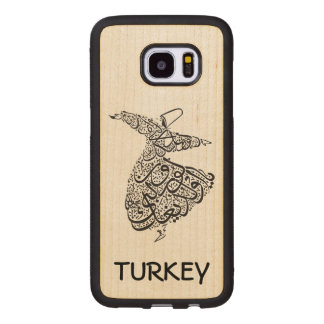 Whirling Dervish Wood Samsung Galaxy S7 Edge Case