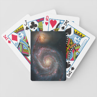 Whirlpool galaxy bicycle playing cards