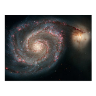 Whirlpool Galaxy Postcard