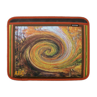 Whirlwind in a Fall Forest Mac Air Sleeve Sleeves For MacBook Air
