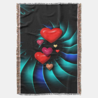 Whirlwind Romance Romantic Sweethearts Afghan