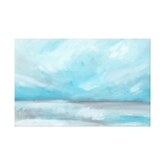 Whirlwind - Stormy Ocean Seascape Canvas Print