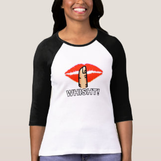 Whisht! Scottish/Irish Phrase Pop-Art T-Shirt