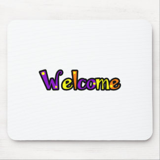 WHISICAL WELCOME MOUSEPADS