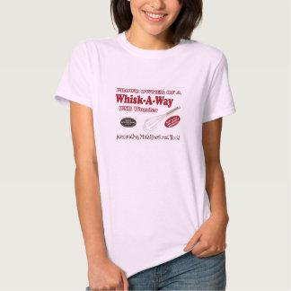 Whisk-A-Way ladies babydoll Shirt