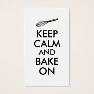 Whisk Business Cards for Bakery Bakers Pastry Chef