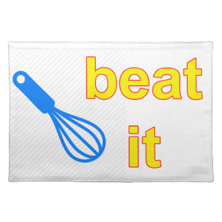 whisk placemat