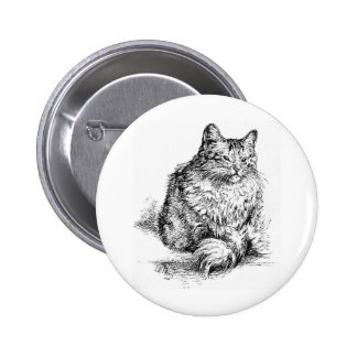 Whisker the Cat Artwork Pins