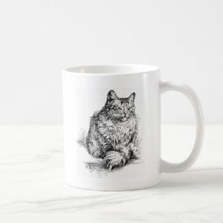 Whisker the Cat Artwork Mugs