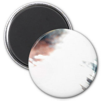Whiskers 6 Cm Round Magnet