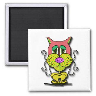 Whiskers Fridge Magnet