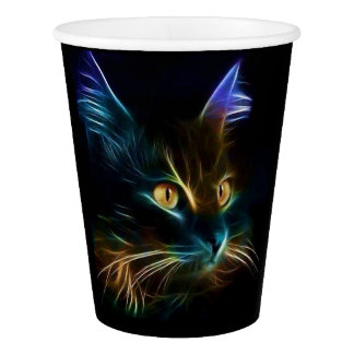 Whiskers Paper Cup