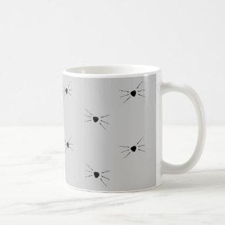 Whiskers Pattern Mug