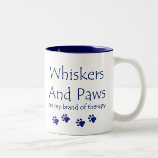 Whiskers & Paws Therapy Mug
